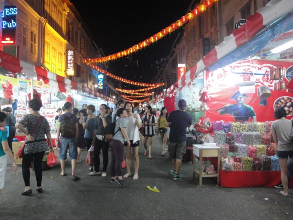 China town Singapure