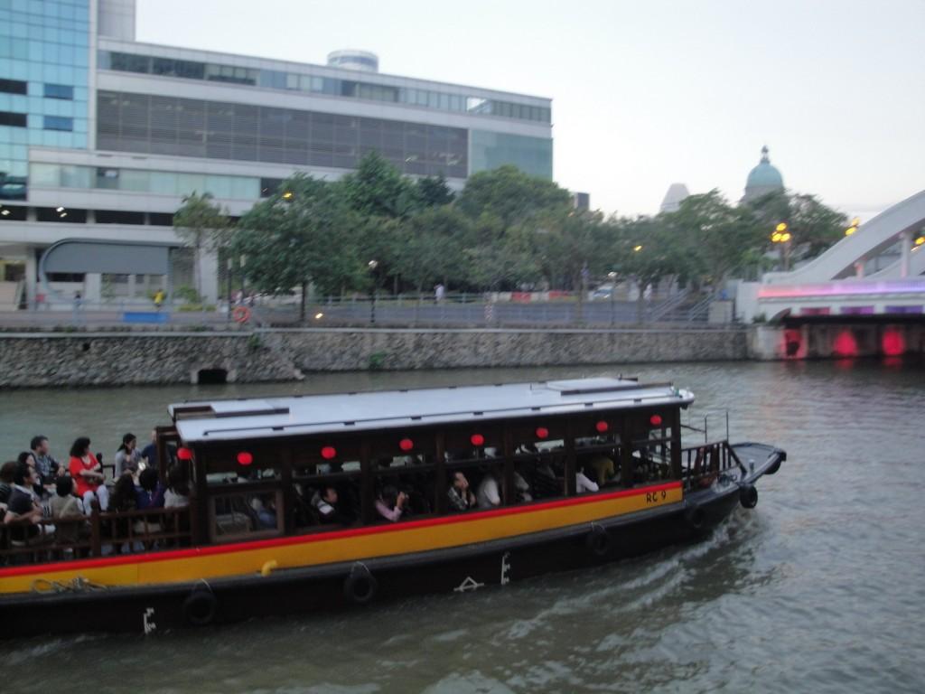 Набережная реки Сингапур