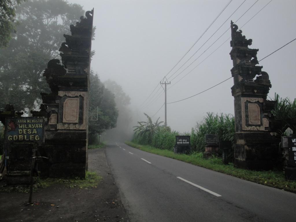 Дорога к озерам Близнецам Буян и Тамблинган на Бали