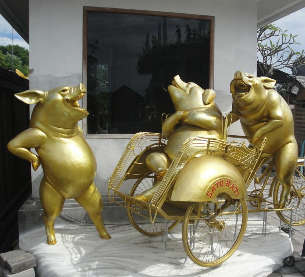 Свиньи по феншую, свиньи символ прибавления, свиньи - символ богатства