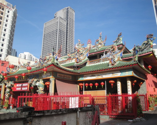 Китайский храм в Брикфилдсе