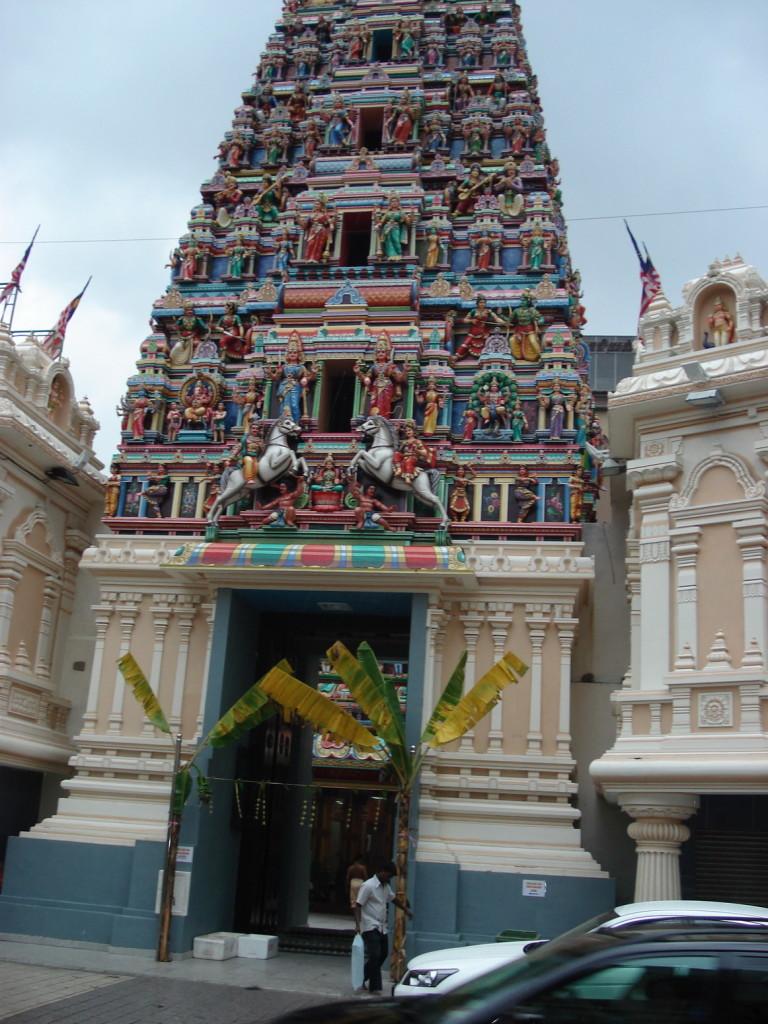Индийский храм в Чайна Тауне