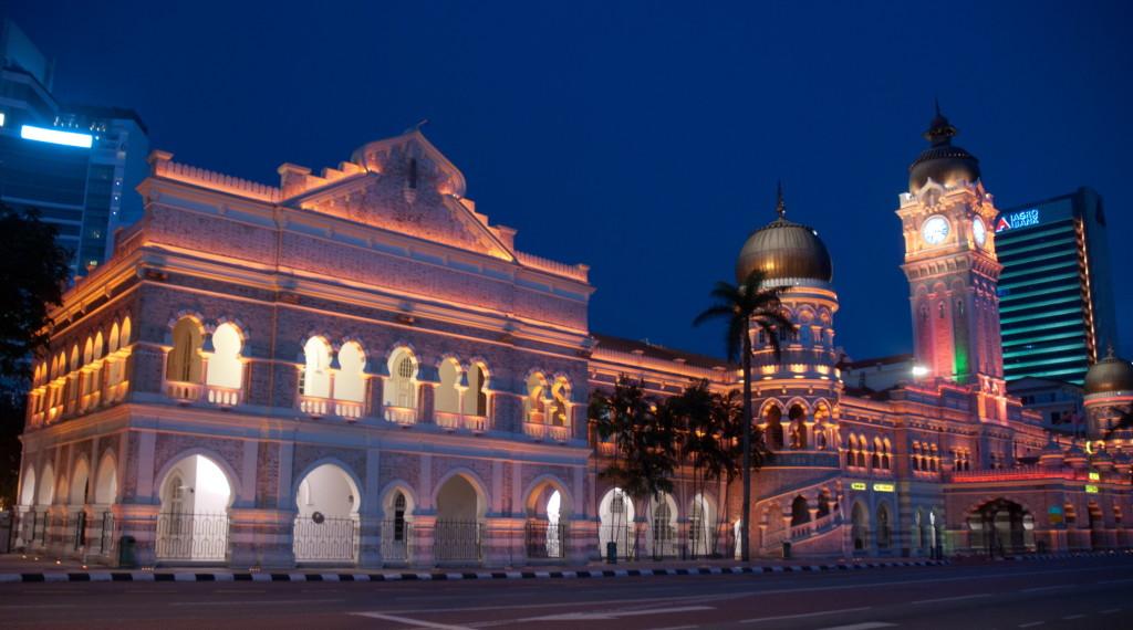 Дворец Султана Абдул Самада Куала Лумпур