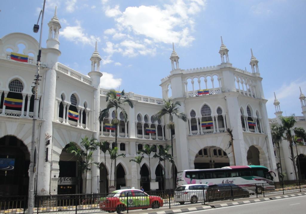 Здание железнодорожного вокзала Куала Лумпур