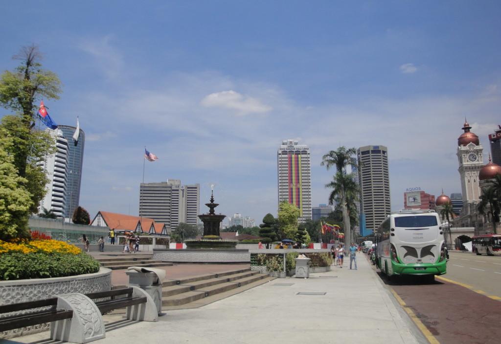 Площадь Мердека в Куала Лумпуре