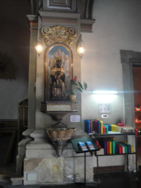 В церкви Сен-Винсент Тосса де Мар