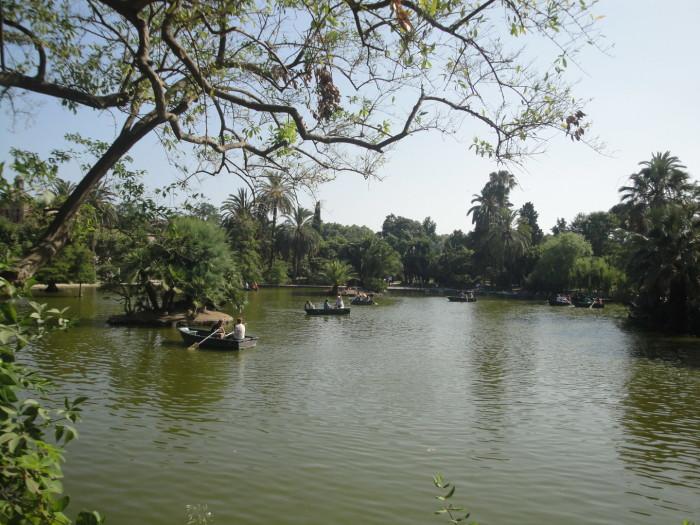 Озеро в парке Цитадели
