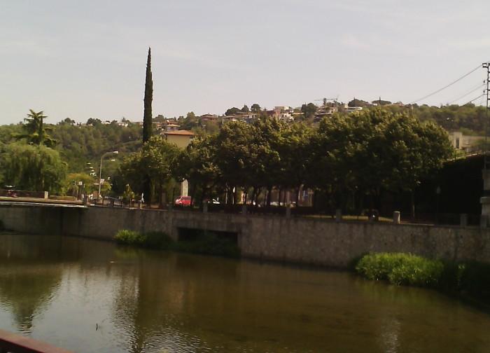 Река Оньяр в Жироне