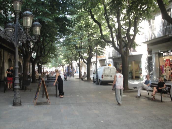 Бульвар Рамблес в Жироне