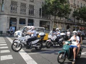 Рядом с площадью Каталонии в Барселоне