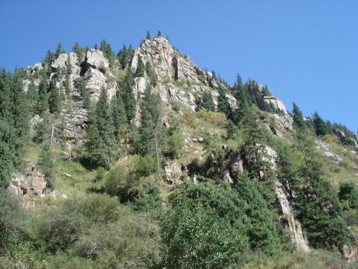 Семёновское ущелье Иссык Куль