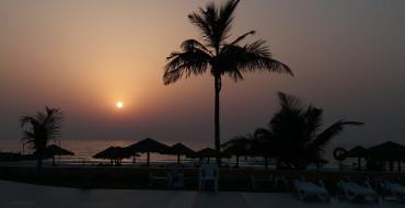 Шарджа. Пляж отеля Лулу