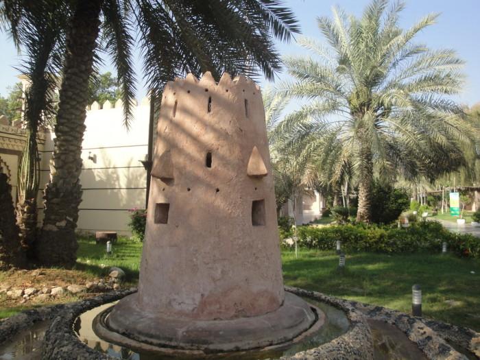 В деревне наследия в Абу Даби