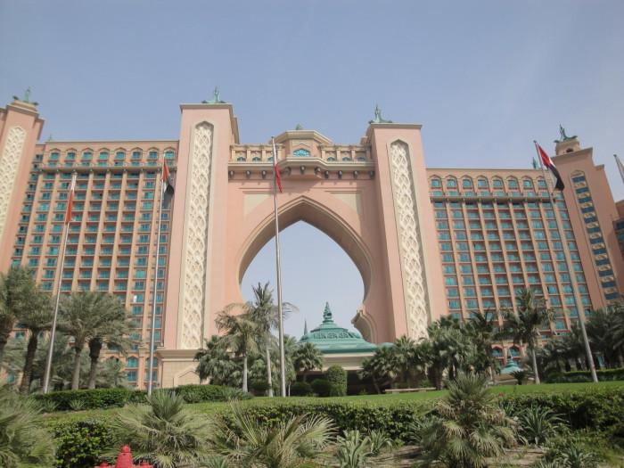 Пальма Джумейра. Отель Атлантик.