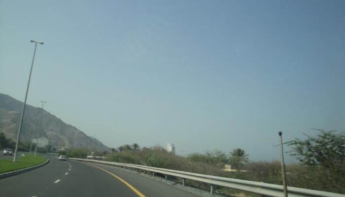 Дорога в ОАЭ