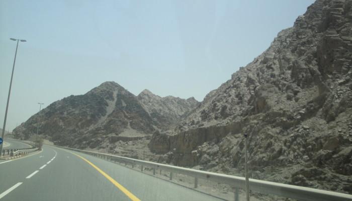 Горы в ОАЭ