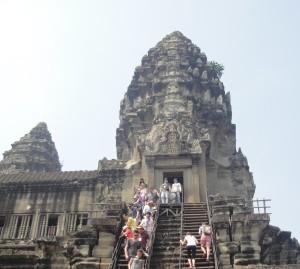 Ангкор Ват. Самая высокая башня