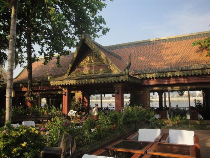 Ресторан в Пномпене