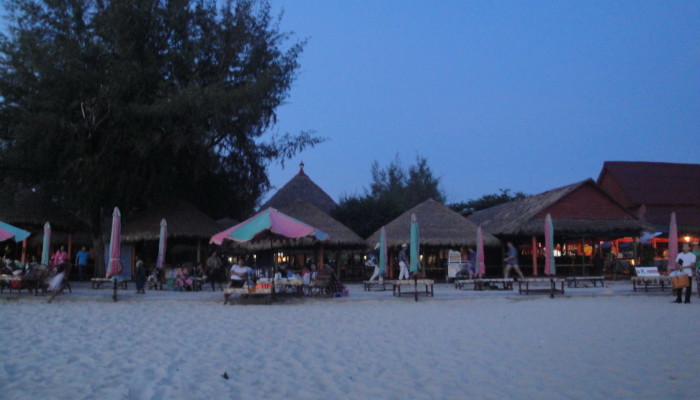 Сиануквиль. Пляж Очутель