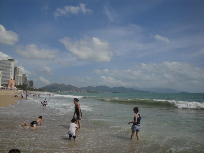 Море в Нячанге