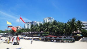 Пляж на Дадунхай