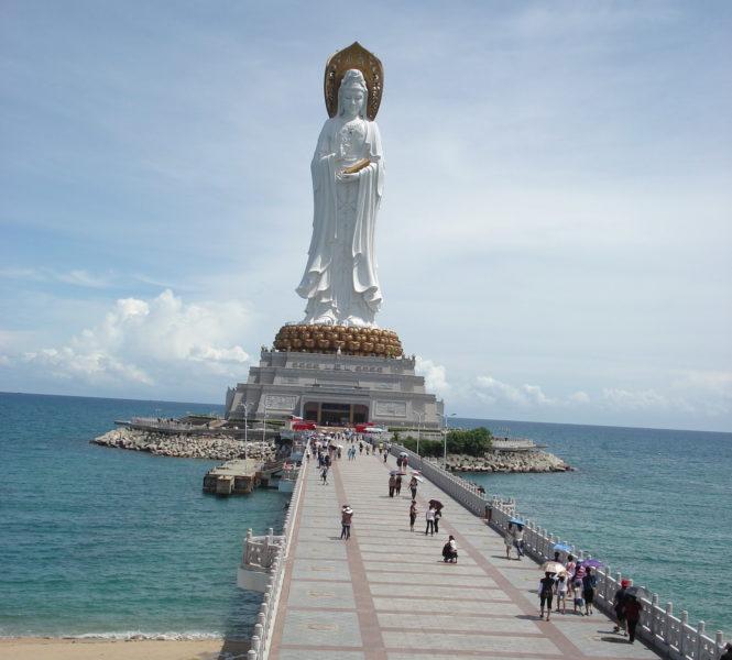 Скульптура Гуаньинь