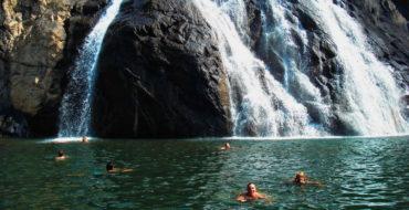 Водопад на Южном Гоа
