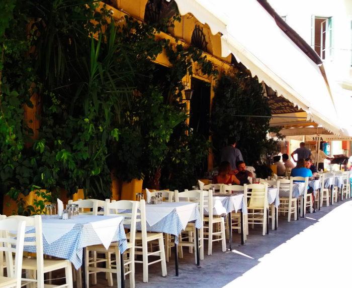 Таверна в Афинах