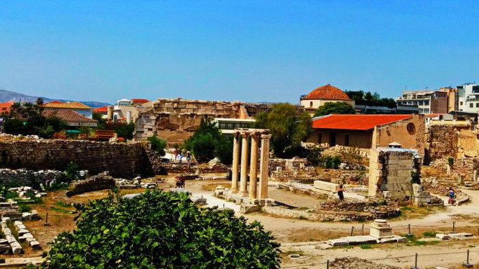 Артефакты в Афинах
