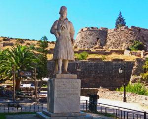 Памятник в Нафплионе