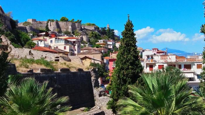 Крепость Акронафия в Нафплионе