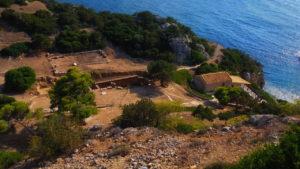 Раскопки храма Геры