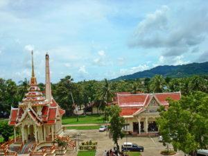 Буддистский храм в Таиланде