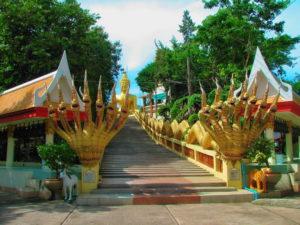 Лестница к Большому Будде в Паттайе