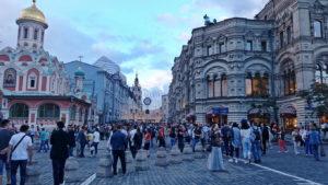Никольская улица с Красной площади