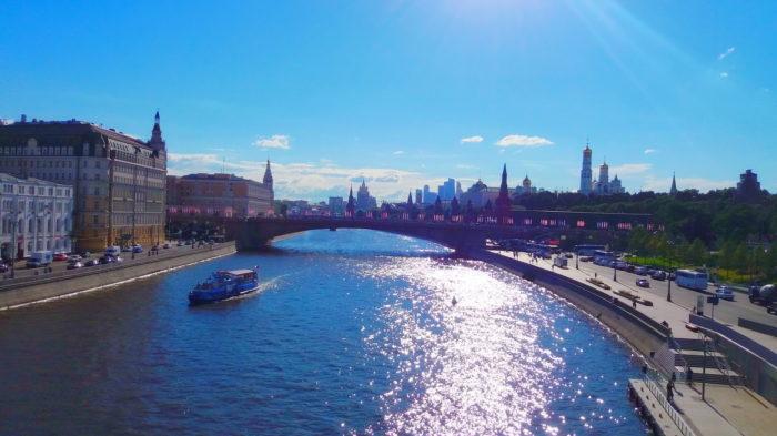 Вид на Москву реку