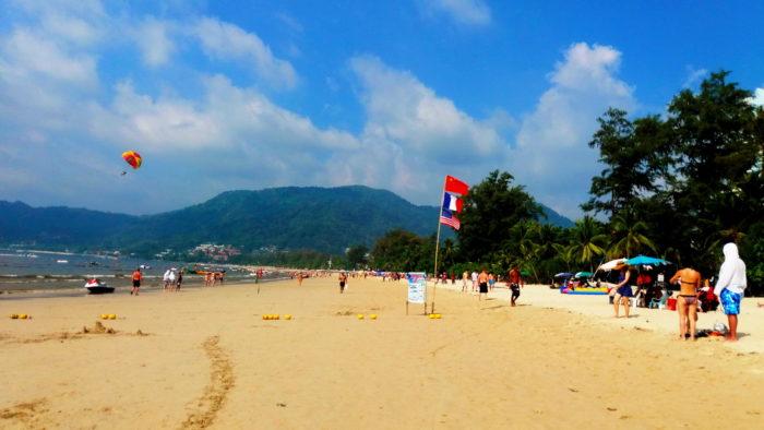 пляж Патонг фото