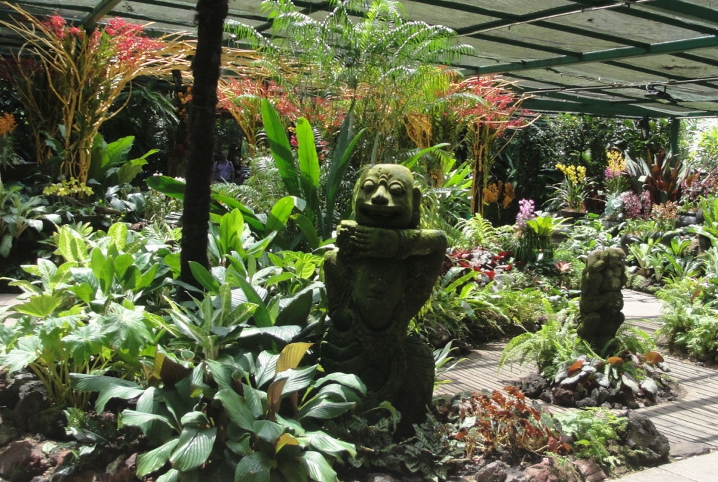 Сад Орхидей в Сингапуре