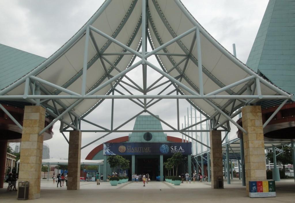 Аквариум на острове Сентоза
