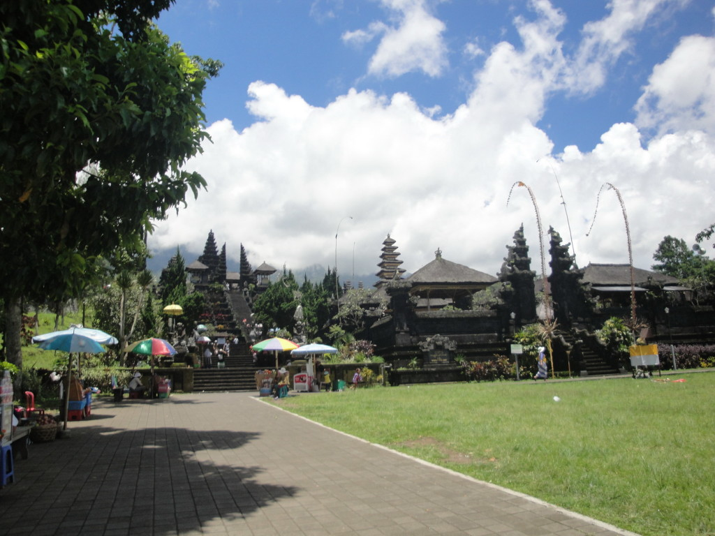 Храм Пура Бесаких и Гора Агунг после посещения храма Пура  Бесаких