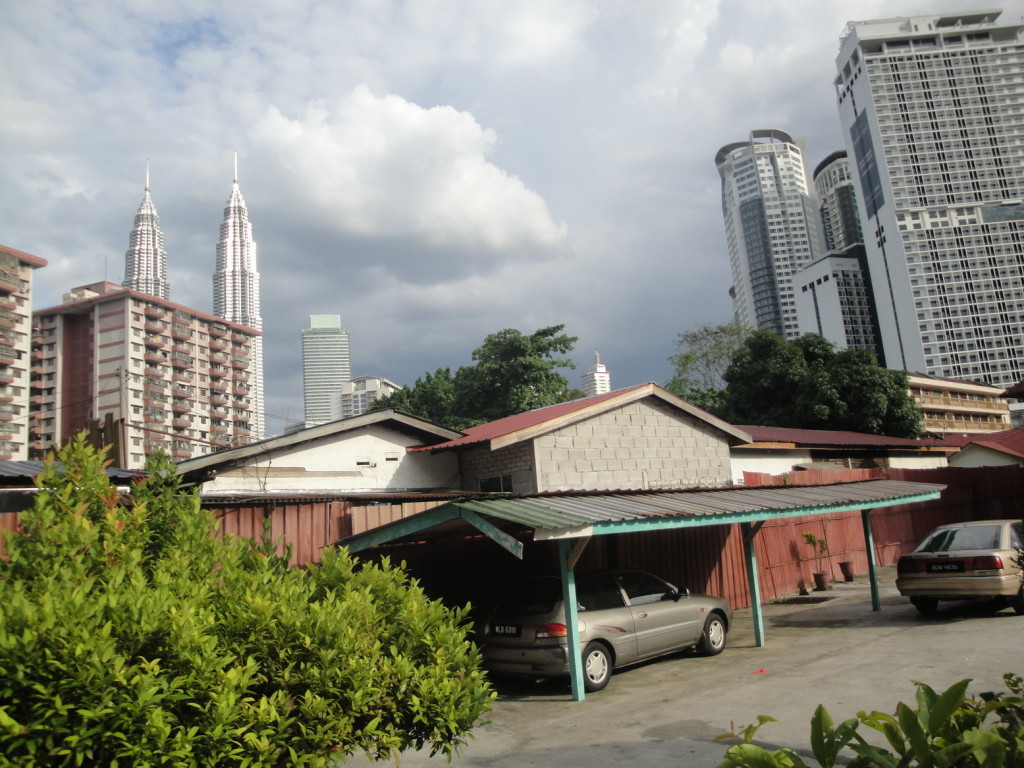 Малайская деревня в Кула Лумпуре