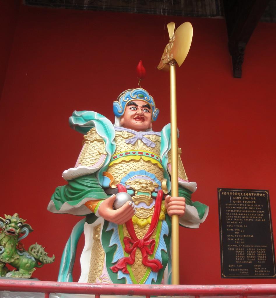 Китайский храм в Чайна Тауне
