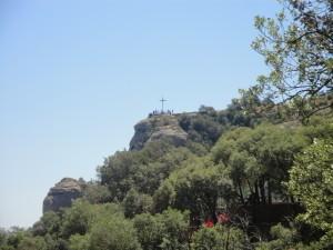 Крест Святого Михаила на горе Монтсеррат