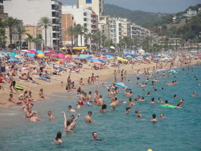 Пляж Лорет де Мар