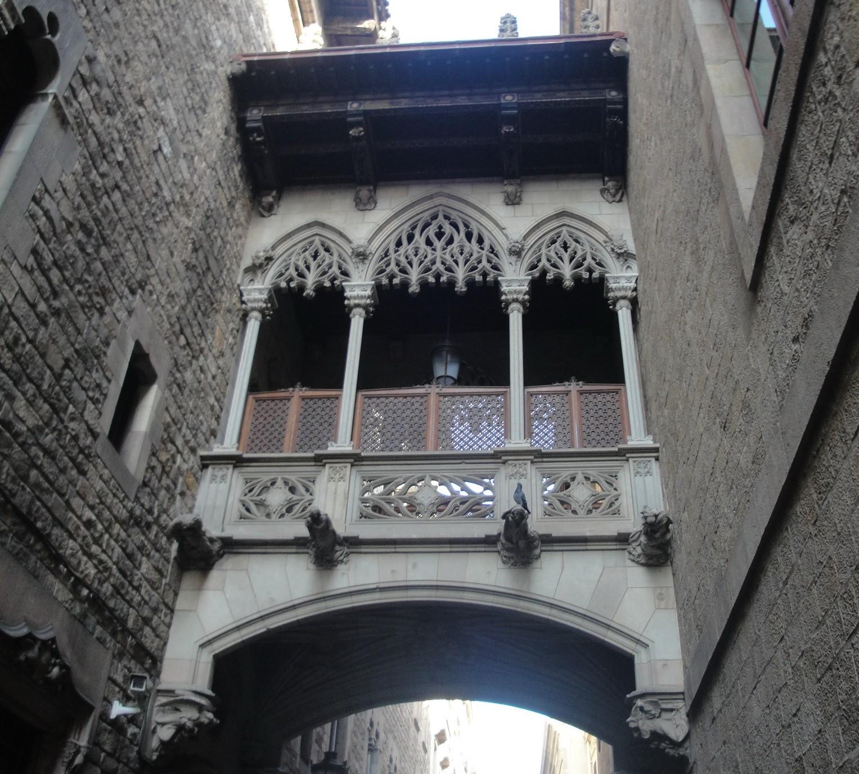 Бульвар Рамбла и Готический квартал Барселоны