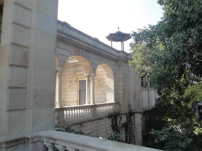 Фонтан Каскад в парке Цитадели