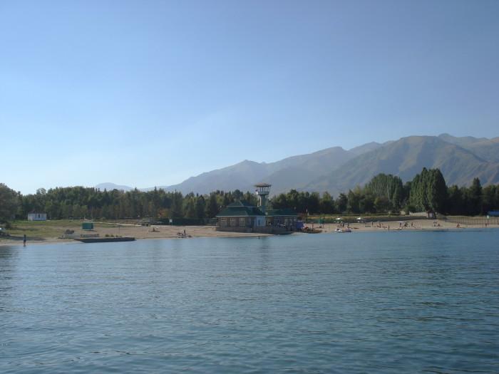 На Иссык-Куле