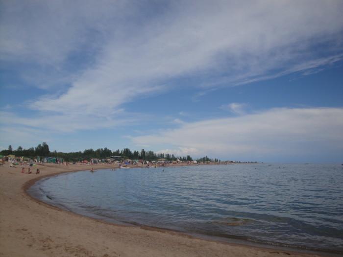 Залив на Иссык-Куле