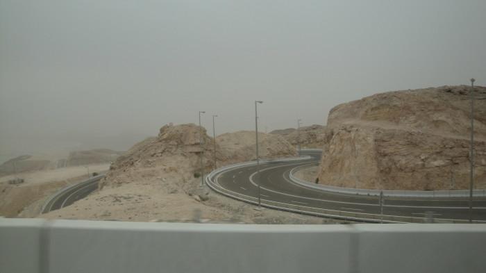 Серпантинная дорога в Аль Айне