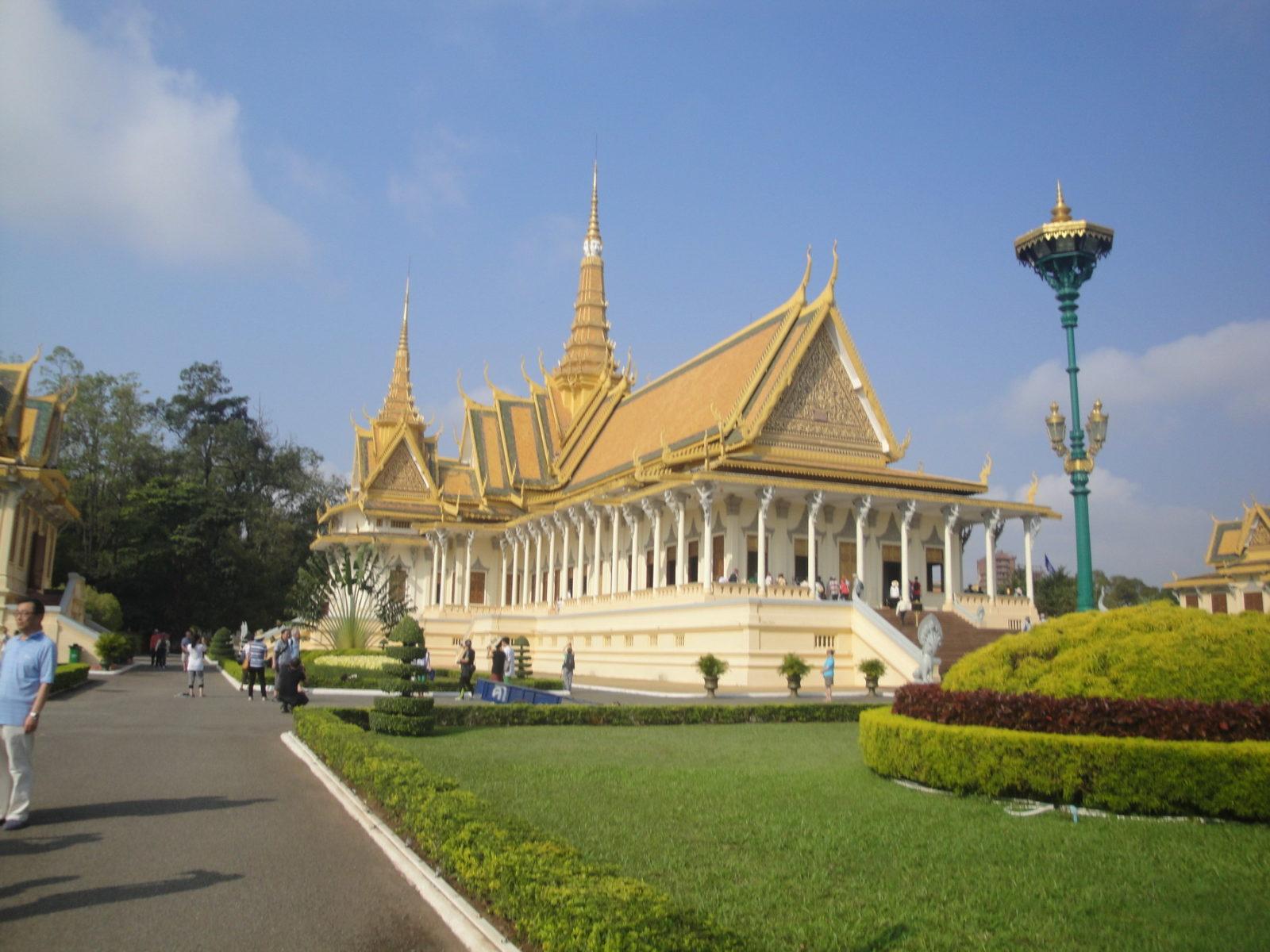 Королевский дворец в Пномпене